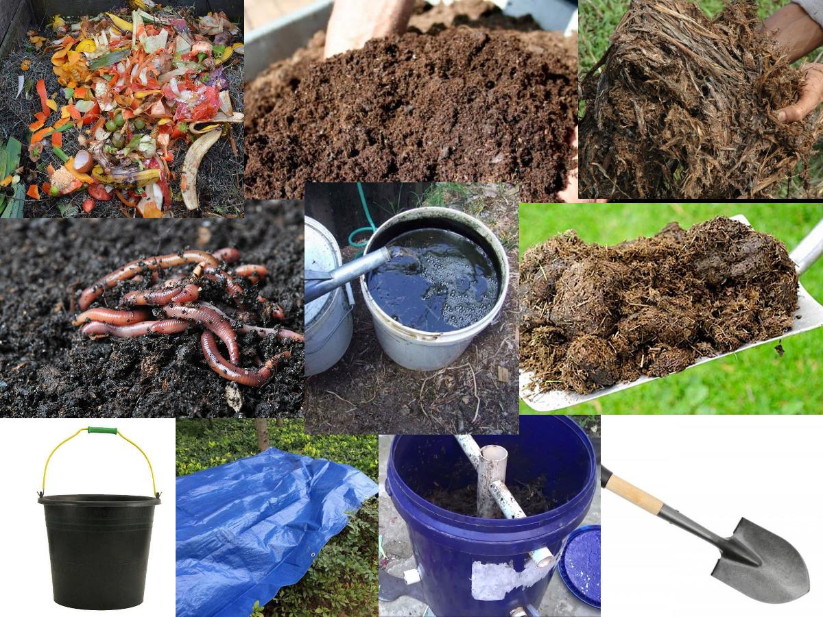 alat dan bahan pembuatan kompos