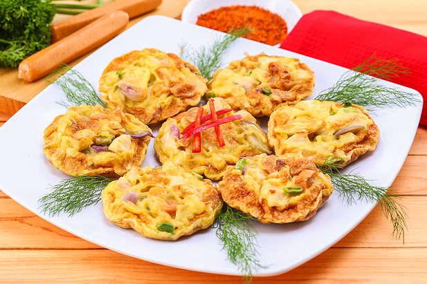 cara-membuat-omelet-telur-mie