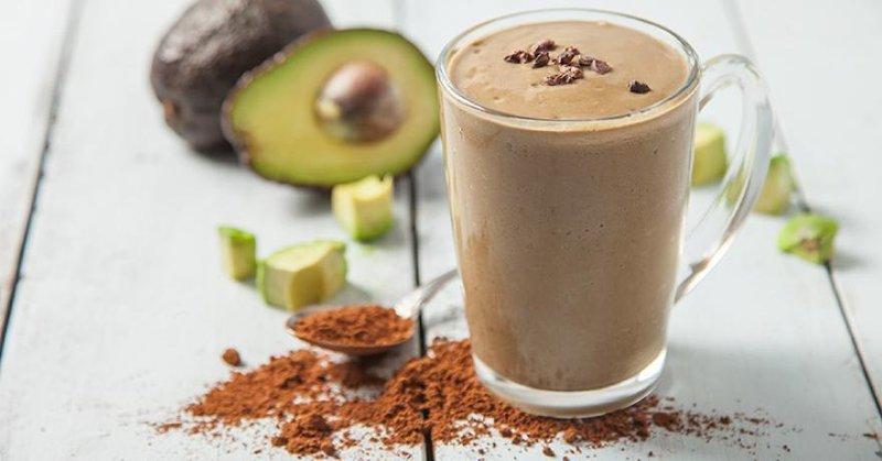 cara membuat avocado coffee