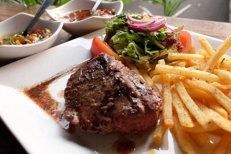 resep steak daging giling