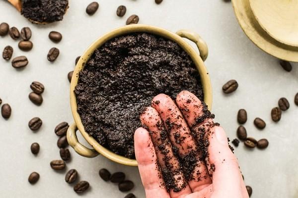 Masker alami dari kopi